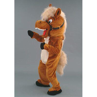mascotte cheval cabre