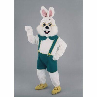 mascotte lapin blanc