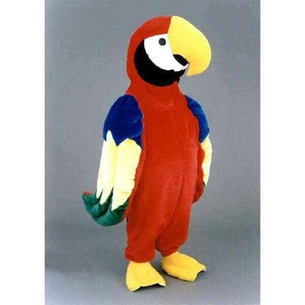 mascotte perroquet ara