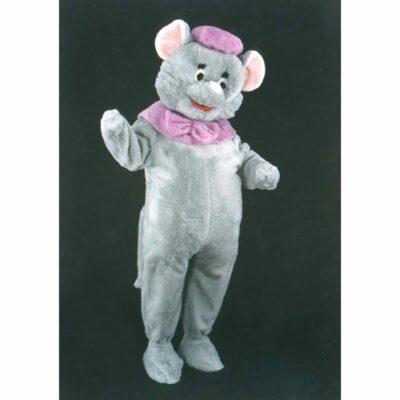 mascotte souris grise