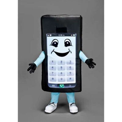 mascotte telephone portable