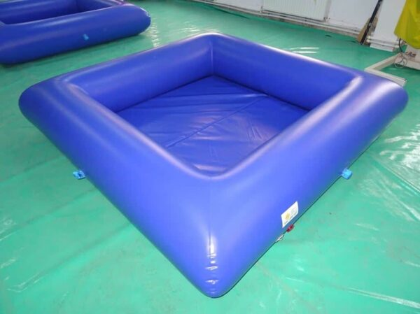 piscine à balles, bain de boules étanche avec tapis en mousse et pompe électrique de gonflage