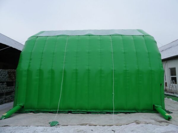 Structure gonflable, tente gonflable 9x9m, fabrication européenne - Lukylud