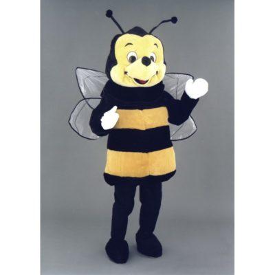 Costume peluche de qualité ou mascotte pour se déguiser en abeille.