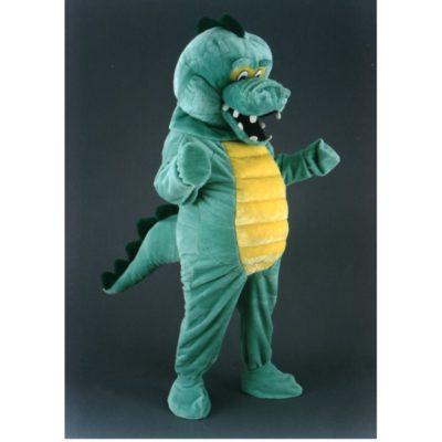 Costume peluche de qualité ou mascotte pour se déguiser en crocodile.