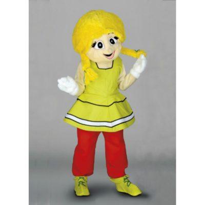Costume peluche de qualité ou mascotte pour se déguiser en personnage gauloise.