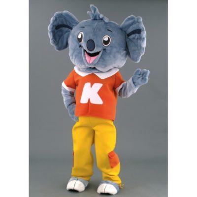 Costume peluche de qualité ou mascotte pour se déguiser en koala.