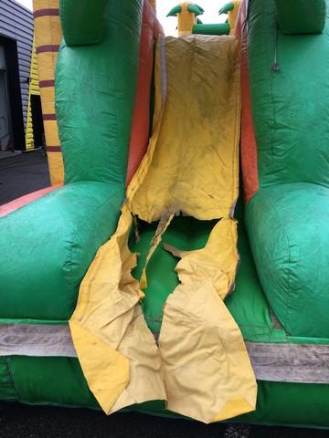 SAV structure gonflable pour les bâches PVC
