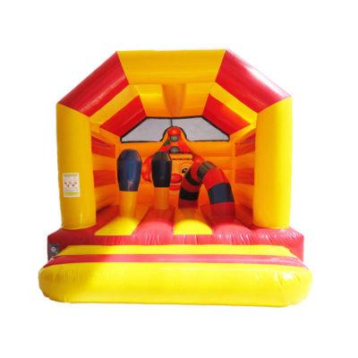 Acheter château gonflable décoré clown