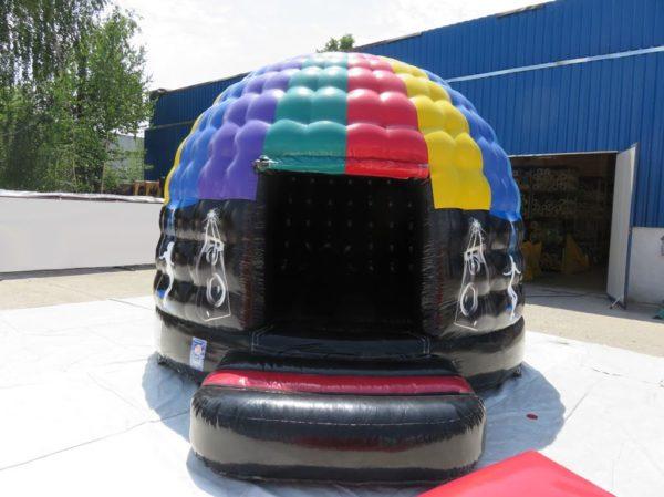Château gonflable mini disco dôme