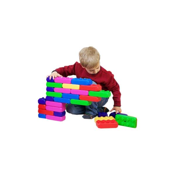 Briques géantes de construction pour aires de jeux