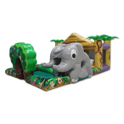 Gonflable petite enfance jungle