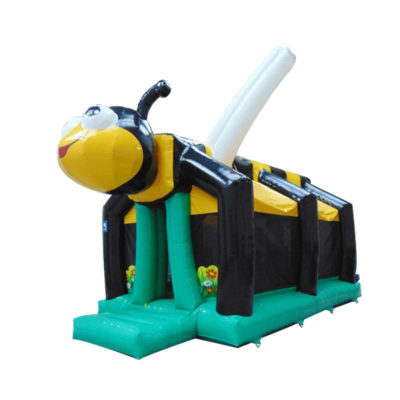 Obstacle jeu gonflable abeille
