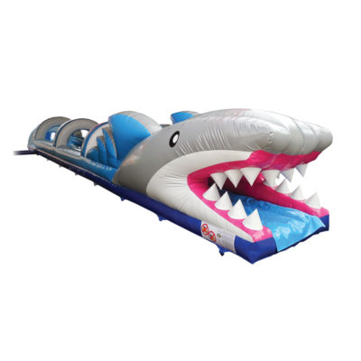 Ventriglisse gonflable requin.