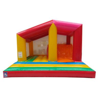 Château gonflable multiplay basico avec bâche de toit