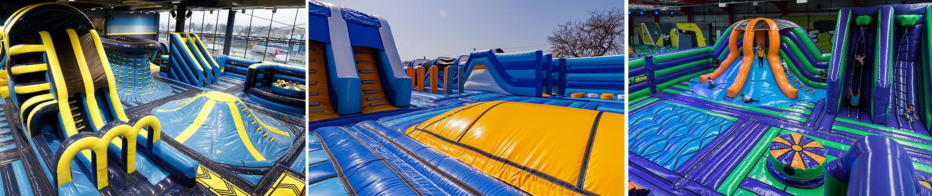 Parcs gonflables géants airparx inflatables.