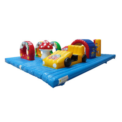 Acheter jeu gonflable obstacles Magic Circus.
