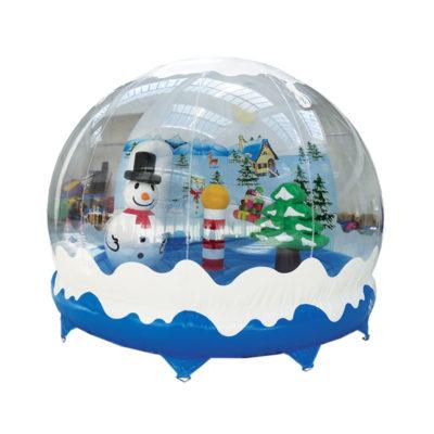 Boule à neige gonflable géante
